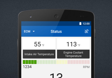 OBD app for Android